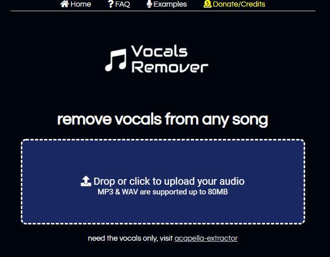 remove-vocals